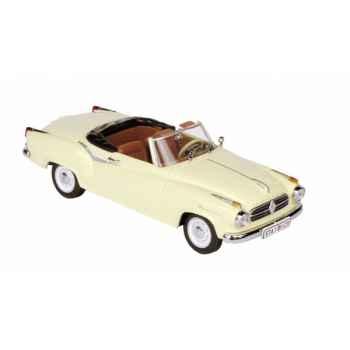 Borgward isabella cabriolet crème Norev 820005