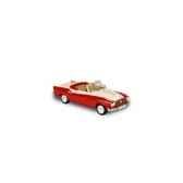 borgward isabella cabriolet rouge et blanc 1958 norev 820006