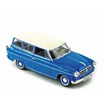 Borgward isabella combi 1960 sky blue Norev 820011