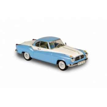Borgward isabella coupé bleu et blanc Norev 820016