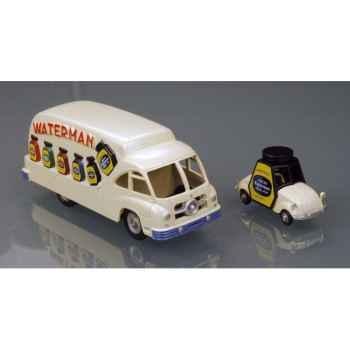 Camion ford et voiturette de rovin waterman 1952 Norev C50100