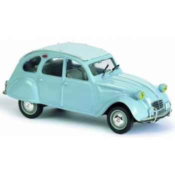 Citroën 2 cv 1966 bleu clair Norev 150921
