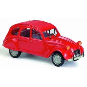 Citroën 2 cv 1970 rouge Norev 151022