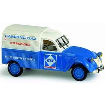 Citroën 2 cv camionnette camping gaz Norev 156011