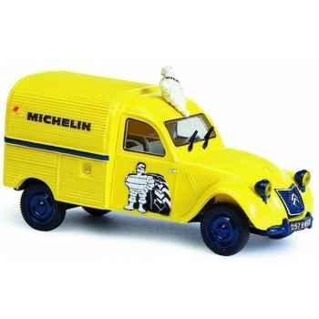 Citroën 2 cv camionnette michelin Norev 156024