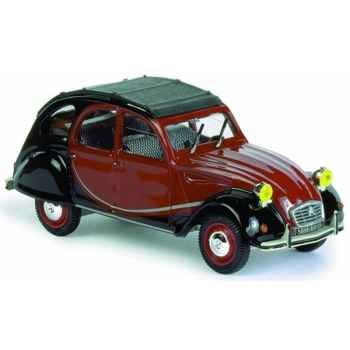 Citroën 2 cv charleston noir et rouge Norev 151326
