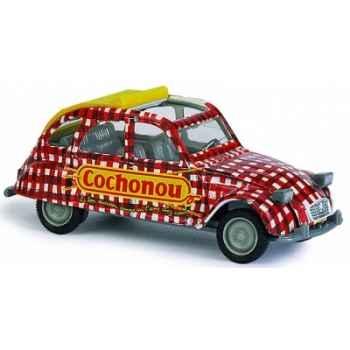 Citroën 2 cv cochonou Norev 151500