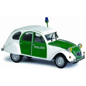 Citroën 2 cv polizei Norev 151410