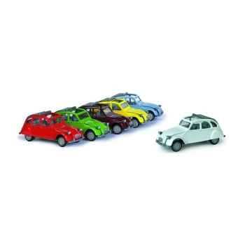 Citroën 2cv assorties Norev 720ND