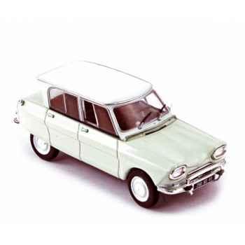 Citroën ami 6 1961 carrare white  Norev 153508
