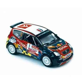 Citroën c2 super 1600 - rallye de var 2008 loeb / loeb  Norev 155255
