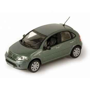 Citroën c3 restylée vert ethel Norev 155340