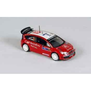 Citroën c4 wrc tour de corse loeb/elena  2007 Norev 155417
