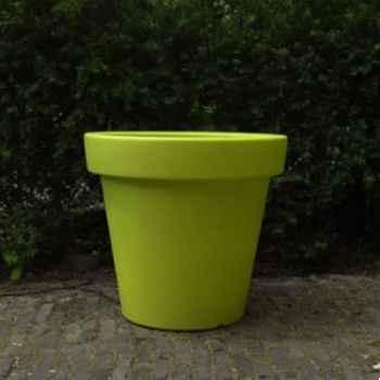 Pot fleur 90 cm Vert