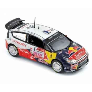 Citroën c4 wrc winner rallye du var 2009 loeb / loeb Norev 155431
