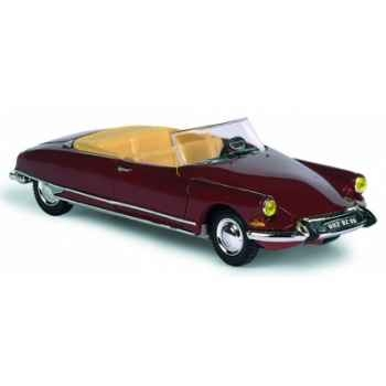 Citroën ds 19 rouge Norev 157004