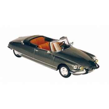 Citroën ds 21 cabriolet gris impérial intérieur havane 1966 Norev 157040