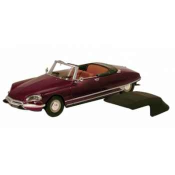 Citroën ds 21 cabriolet rouge rubis Norev 157039