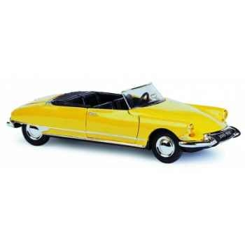 Citroën ds cabriolet jaune Norev 157020