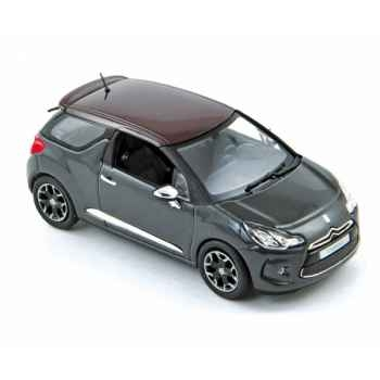 Citroën ds3 2010 grey with red roof  Norev 155282