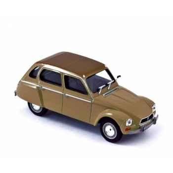 Citroën dyane 1970 paille brûlée brown  Norev 153717