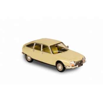 Citroën gs beige erable 1970 Norev 158211