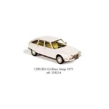 Citroën gs blanc meije 1971 Norev 158214