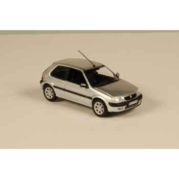 Citroën saxo vts 3 portes gris aluminium 2000 Norev 155155