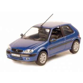 Citroën saxo vts 3p 2000 bleu grand pavois Norev 155152