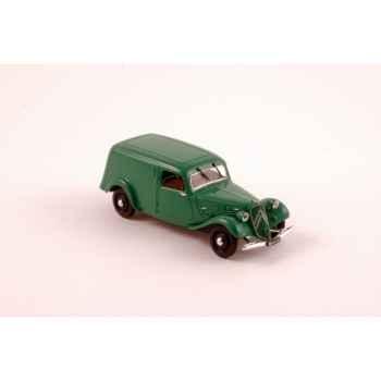 Citroën traction 11 fourgonnette verte 1937 Norev 153040
