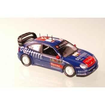 Citroën xsara wrc bleu chronos  rallye de chypre loeb 2006 Norev 159752