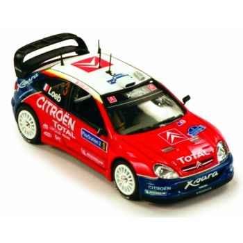 Citroën xsara wrc rallye de corse 2004 Norev 159750