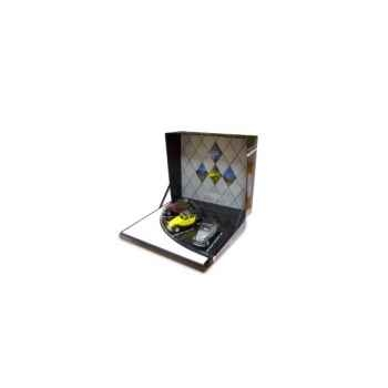 Coffret 3 2cv charleston rouge/noir, jaune/noir, gris/gris Norev 151328