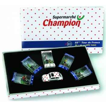 Coffret champion tour de france 2001 Norev EC4080