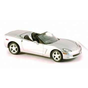 Corvette c6 cabriolet machine silver Norev 900001