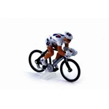 Cycliste au 1/43ème française des jeux tdf 2007 Norev CC4588