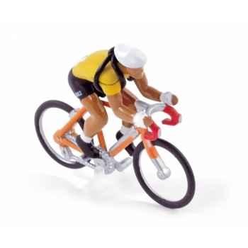 Cycliste maillot jaune tdf  1955  Norev CC4551