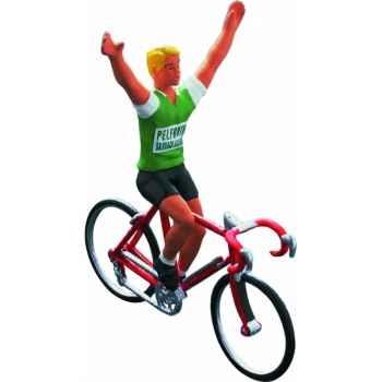 Cycliste maillot vert pelforth Norev CC4507