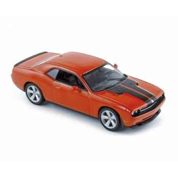 Dodge challenger coupé srt8 2008 orange  Norev 950030