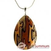 bcommeb pendentif goutte avec chaine argent cg3w