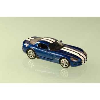 Dodge viper coupé bleue rayée  2006 Norev 950020