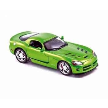 Dodge viper srt10 2008 green  Norev 950028