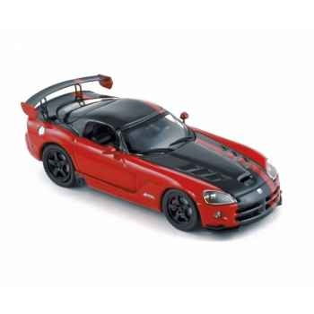 Dodge viper srt10 acr 2008 red & black Norev 950027
