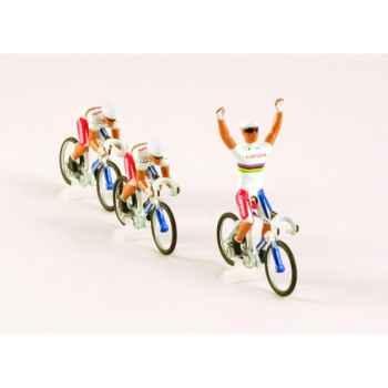 Equipe 3 cyclistes cofidis Norev EC4090