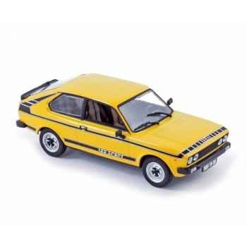 Fiat 128 coupé sport 1978 yellow Norev 770072