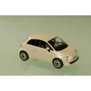 Fiat 500 blanc 2007 Norev 770025