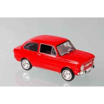 Fiat 850 berline rouge 1964 Norev 778501