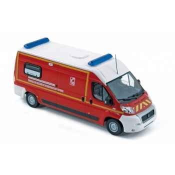 Fiat ducato 2008 pompier vsav  Norev 775006