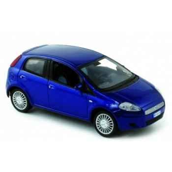 Fiat grande punto 5p bleu 2005 Norev 771069