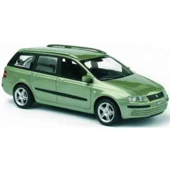 Fiat stilo multi wagon verde cristallo Norev 771040